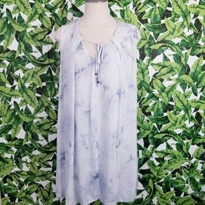 Umgee Sleeveless Tie Dye Dress